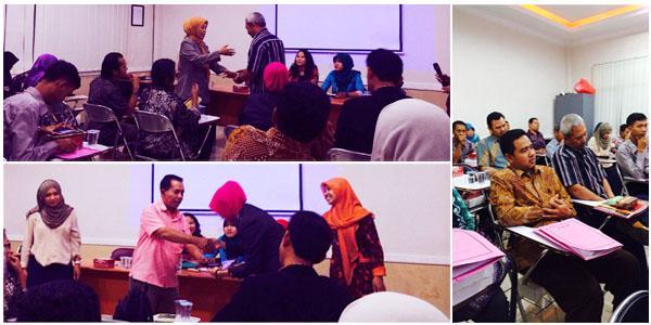 Rapat Awal Perkuliahan Semester Gasal 2014/2015 & Pemberian Penghargaan Dosen Terbaik di Bidang Pengajaran STIE PGRI Dewantara Jombang