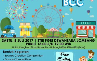 Business Creation Competition, Dance Cover, and Bazar BBC