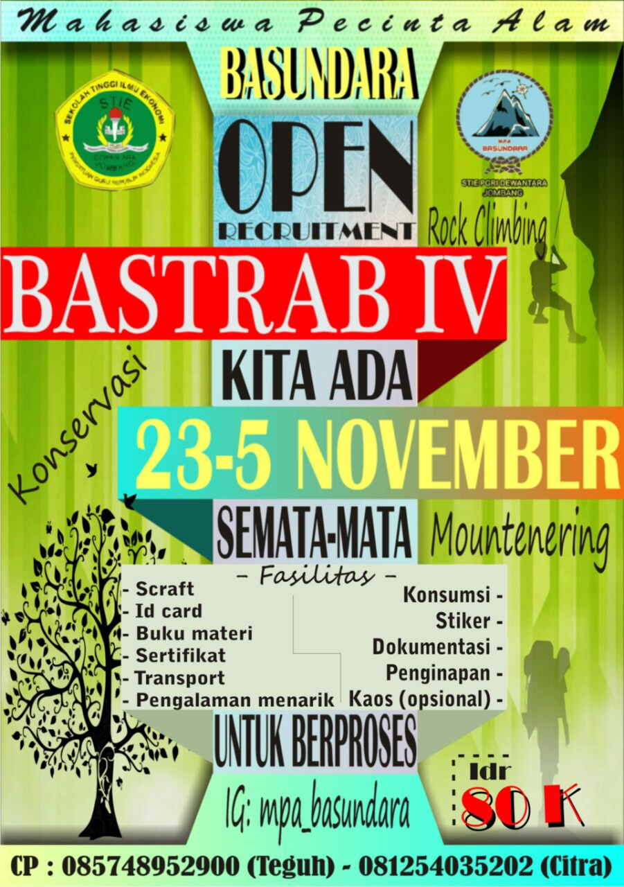 Open Recruitment BASUNDARA