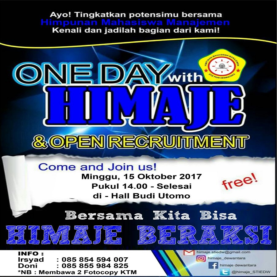 ONE DAY WITH HIMAJE
