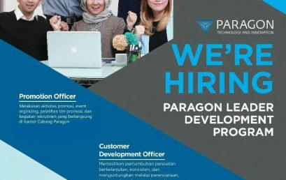 Lowongan Kerja PT. Paragon Technology and Innovation