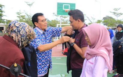 PEMBERANGKATAN KKN 325 MAHASISWA STIE PGRI DEWANTARA JOMBANG TAHUN AKADEMIK 2017/2018