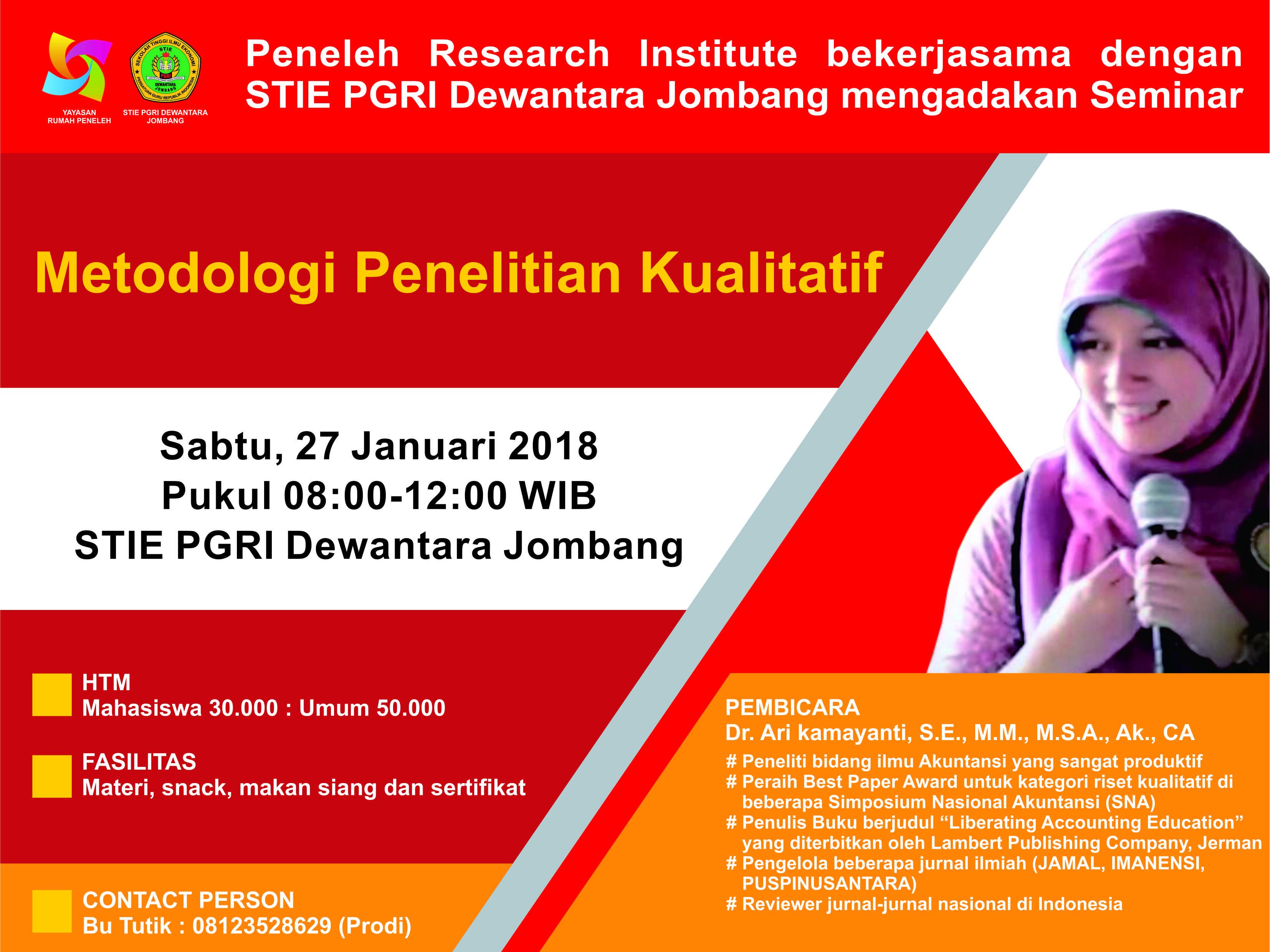 Seminar Metodologi Penelitian Kualitatif