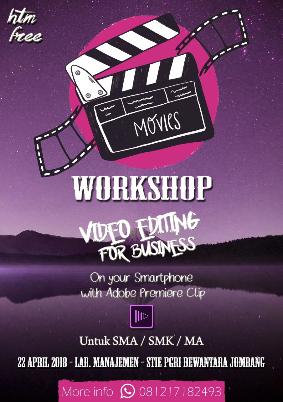 WORKSHOP VIDEO EDITING FOR BUSINESS