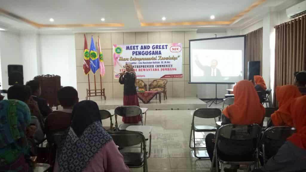 MEET AND GREET PENGUSAHA BERSAMA UKM STIE ENTERPRENEUR COMMUNITY
