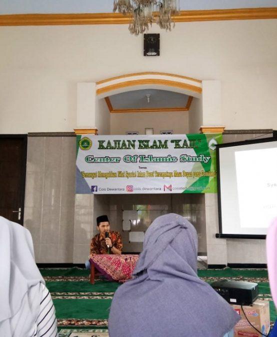 UKM COIS (CENTER OF ISLAMIC STUDY) GELAR KAJIAN ISLAM KE-2