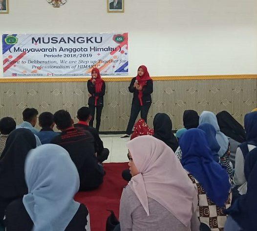 HIMPUNAN MAHASISWA AKUNTANSI GELAR MUSYAWARAH ANGGOTA HIMAKU (MUSANGKU) 2019