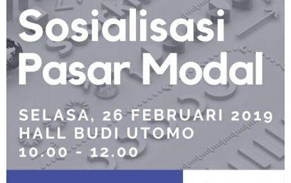 SOSIALISASI PASAR MODAL