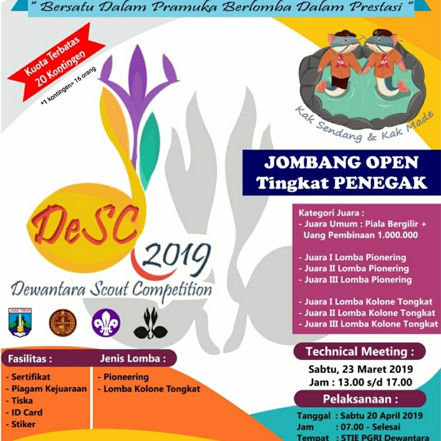 DEWANTARA SCOUT COMPETITION 2019