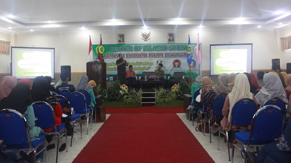 Center of Islamic Study (COIS) Gelar Seminar Ekonomi Islam Dewantara
