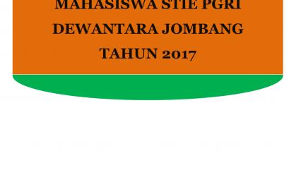 LAPORAN  TINDAK LANJUT HASIL PENGUKURAN KEPUASAN MAHASISWA STIE PGRI DEWANTARA JOMBANG TAHUN 2017