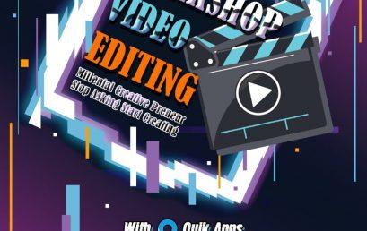 WORKSHOP VIDEO EDITING