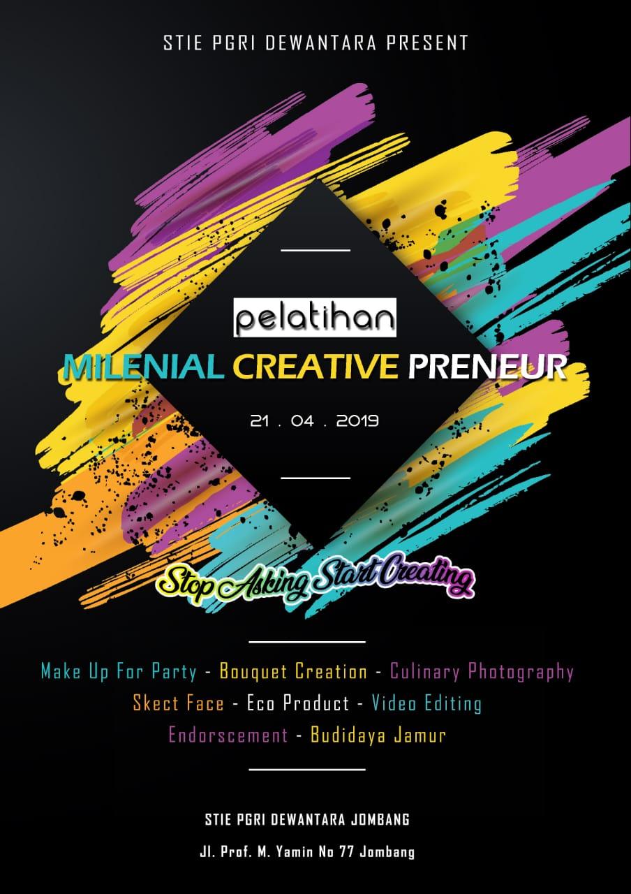 Pelatihan Milenial Creative Preneur