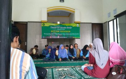 UKM CENTER OF ISLAMIC STUDY (COIS) STIE PGRI DEWANTARA JOMBANG GELAR PERINGATAN BULAN SYA'BAN