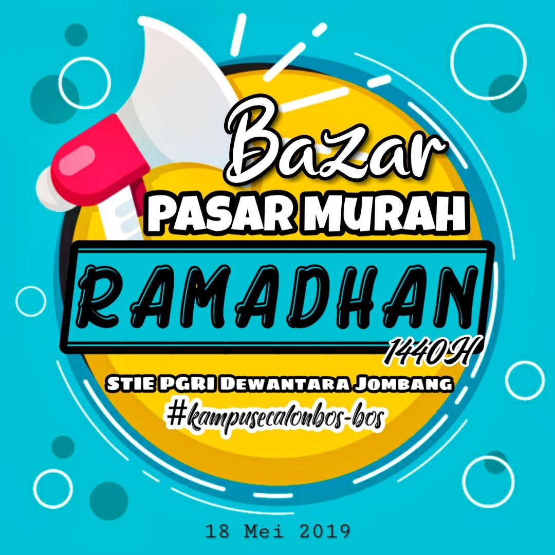 BAZAR TEBUS MURAH RAMADHAN 1440 H