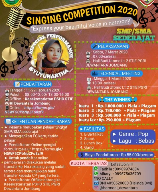 SINGING COMPETITION 2020
