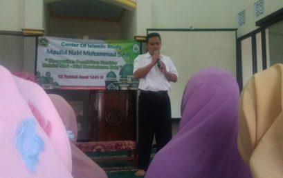 UKM CENTER OF ISLAMIC STUDY (COIS) GELAR  PERINGATAN MAULID NABI MUHAMMAD SAW