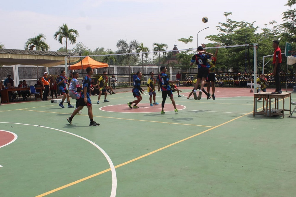 STIE VOLLEY BALL COMPETITION 2019 USUNG SPORTIVITAS DAN KREATIVITAS