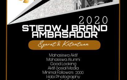 BRAND AMBASADOR 2020