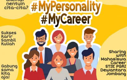 MY PERSONALITY, MY CAREER WITH STIE PGRI DEWANTARA JOMBANG