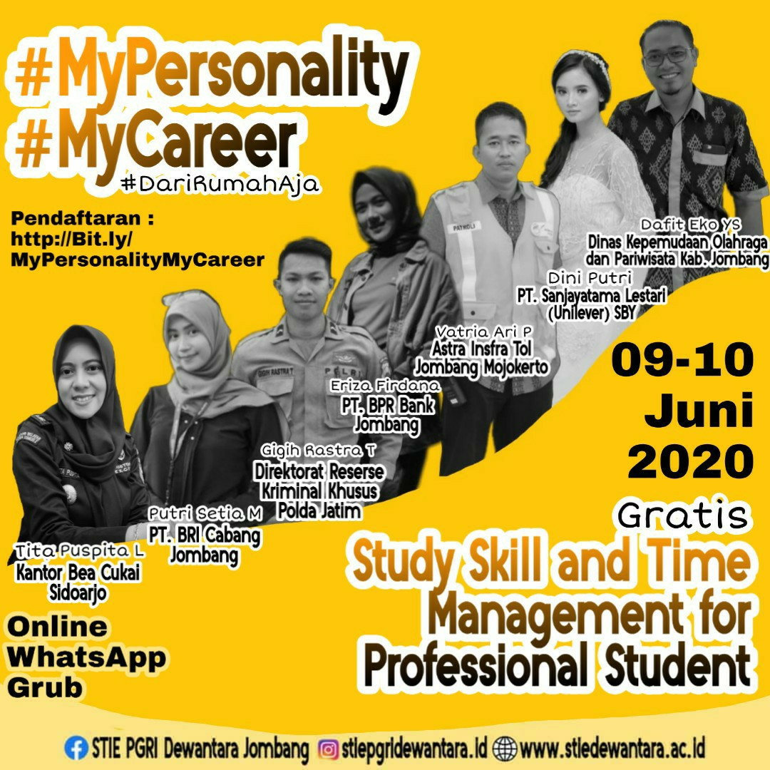 STUDY SKILL AND TIME MANAGEMENT FOR PROFESSIONAL STUDENT