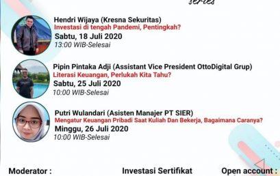 WEBINAR SERIES BY PASAR MODAL STIE PGRI DEWANTARA JOMBANG
