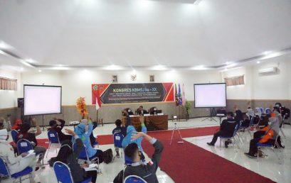 KONGRES KBMSJ KE-XX DEWAN PERWAKILAN MAHASISWA STIE PGRI DEWANTARA JOMBANG SUKSES DIGELAR